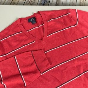 Brooks Brothers V-Neck Sweater Size 2XL Red